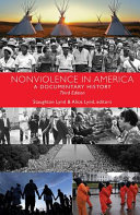 link to Nonviolence in America : a documentary history in the TCC library catalog