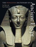 The Princeton Dictionary of Ancient Egypt