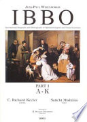IBBO International Biography and Bibliography of Ophthalmologists and Visual Scientist  A Z  Book