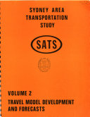 Sydney Area Transportation Study Book