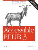 Accessible EPUB 3 Pdf/ePub eBook