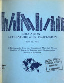 Education literature of the Profession