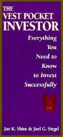 The Vest Pocket Investor Book