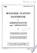 Weather Station Handbook