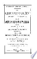 The Circuit Court Of The United States For The Western District Of Michigan