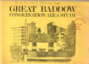 Great Baddow Conservation Area Study Book PDF