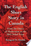 The English Short Story in Canada