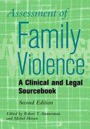 Assessment Of Family Violence