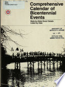 Comprehensive Calendar of Bicentennial Events Book PDF