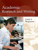 Academic Research and Writing
