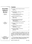 Securities Industry Review