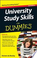 University Study Skills for Dummies