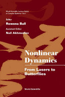 Nonlinear Dynamics  From Lasers to Butterflies