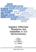 Negative Differential Resistance and Instabilities in 2-D Semiconductors [Pdf/ePub] eBook