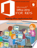 Microsoft Office 2016 for Kids
