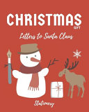 Christmas Gift Letters to Santa Claus  Stationery