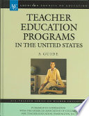 Teacher Education Programs in the United States