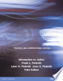 Introduction to Optics: Pearson New International Edition