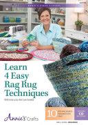 Learn 4 Easy Rag Rug Techniques Class