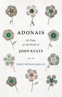 Adonais - An Elegy on the Death of John Keats Pdf