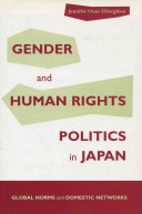 Gender and Human Rights Politics in Japan