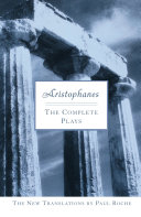 Aristophanes  The Complete Plays
