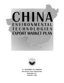 China environmental technologies export market plan.