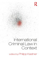 International Criminal Law in Context Pdf/ePub eBook