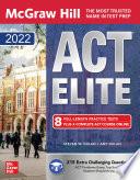 McGraw Hill Education ACT ELITE 2022