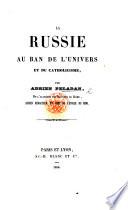 La Russie au ban de l'Univers et du Catholicisme