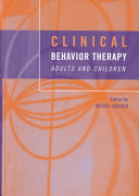 Clinical Behavior Therapy