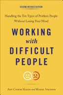Working with Difficult People, Second Revised Edition [Pdf/ePub] eBook