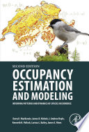Occupancy Estimation and Modeling Book