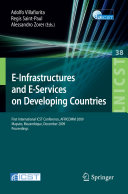 E Infrastructures and E Services on Developing Countries