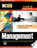 Management: Leading And Collaborating In The Competitive World