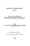 Images croisées de la femme romantique à travers la littérature et la peinture, en France de 1765 a 1833