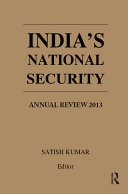 India's National Security Pdf/ePub eBook