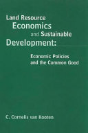 Land Resource Economics and Sustainable Development