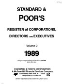 Standard   Poor s Register of Corporations  Directors and Executives