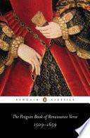 The Penguin Book of Renaissance Verse