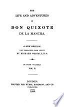 The Life and Adventures of Don Quixote de la Mancha