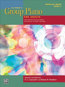Alfred's Group Piano for Adults -- Popular Music, Bk 2