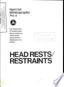 Head Restraints Special Bibliography
