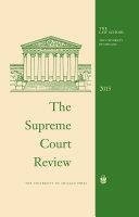 The Supreme Court Review, 2015 Pdf/ePub eBook