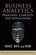 Business Analytics Principles  Concepts  and Applications