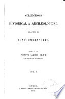 The Montgomeryshire Collections Book