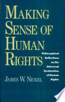 Making Sense of Human Rights  : Philosophical Reflections on the Universal Declaration of Human Rights