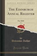 The Edinburgh Annual Register  Vol  3
