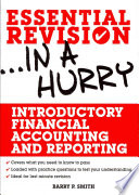 Introductory Financial Accounting and Reporting