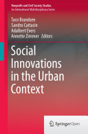 Pdf Social Innovations in the Urban Context Telecharger